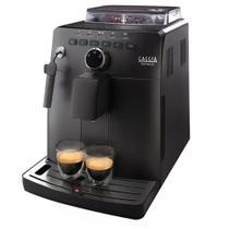 Cafeteira Automática Expresso Gaggia Naviglio Preta 110v -