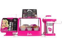 Cafeteira de Brinquedo Faz de Conta - Coffee Shop Barbie Fun 10 Peças
