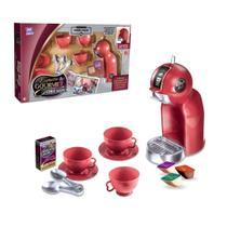 Cafeteira de brinquedo meninos meninas expresso gourmet 14 peças vermelho - Zuca Toys