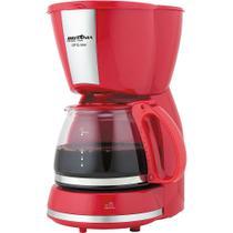 Cafeteira Elétrica 15 Xícaras Britânia Inox CP15 Vermelha -