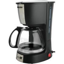 Cafeteira Elétrica 16 Xícaras Aroma Preta 220V - Mallory -