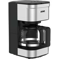 Cafeteira Elétrica 20 Xícaras Arno Preferita CFPF com Filtro Permanente Removível Inox 127V -