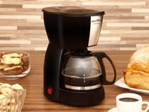 Cafeteira Elétrica Britânia CP15 Xícaras - Preto e Inox