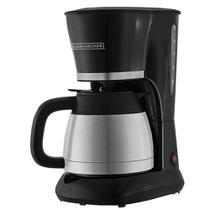 Cafeteira elétrica com jarra térmica inox black&decker 127v - BLACK+DECKER