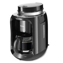 Cafeteira Eletrica com moedor de grãos Philco Grano Cafe PCF23P Preto 110v -