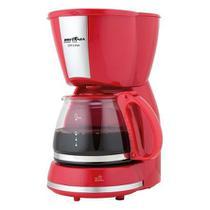 Cafeteira Elétrica Inox CP15 220V 15 Xícaras Vermelha Britânia -