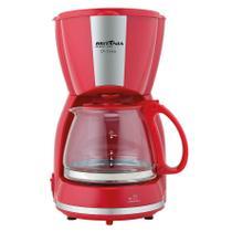 Cafeteira Elétrica Inox CP15 550W Britânia Vermelho - 110V - Britania