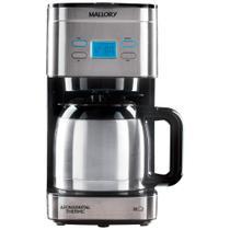 Cafeteira Elétrica Mallory 32 Xícaras / 1,2Lt Aroma Digital Thermic Inox -