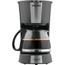 Cafeteira Elétrica Mallory Aroma 16 Inox com Jarra em Vidro 600ml 16 Cafés (110V) -