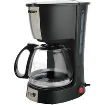 Cafeteira Elétrica Mallory Aroma, Preta - 110V -
