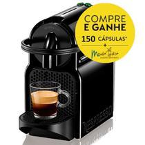 Cafeteira Espresso Nespresso Inissia D40 127v + 150 Capsulas Café Moulin'Dor -