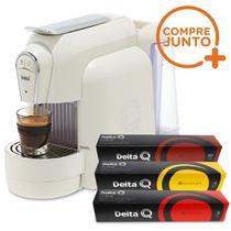 Cafeteira Expresso Automática Qool Delta Q Branca 110 v + 30 Cápsulas -