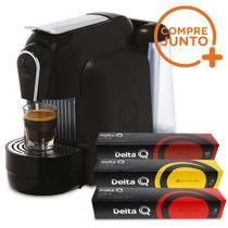 Cafeteira Expresso Automática Qool Delta Q Preta 110 v + 30 Cápsulas -