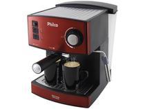 Cafeteira Expresso Inox Philco - 20 Bar Red