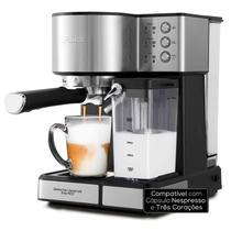 Cafeteira Expresso Philco 6 Programas, Latte Cappucino, Pressão 20 Bar, Compatível Cápsula Nespresso e Três Corações 110v - PCF21P -