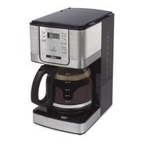 Cafeteira Flavor Programável 12 Xícaras Cinza 127v- Oster (BVSTDC4401-017) -