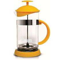 Cafeteira French Press Bialetti Basic Amarela - 1L