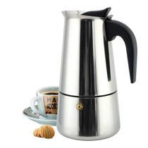 Cafeteira Italiana em Aço Inox 450 ml 9 Xícaras - Espresso Maker
