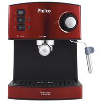 Cafeteira Philco Expresso 20 Bar Inox Red -