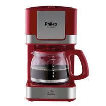Cafeteira Philco PH16 Inox Vermelho -
