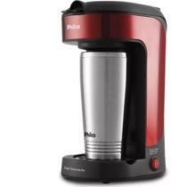 Cafeteira Philco Thermo Inox Red Com Copo Térmico Portátil -