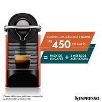 Cafeteira Pixie Carmim 110v Nespresso -