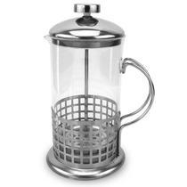 Cafeteira Prensa Francesa Pressão Vidro E Inox 600Ml- CLINK -