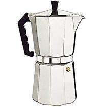 Cafeteira Tipo Italiana Em Alumínio Com Capacidade Para 6 Xícaras - Hypem