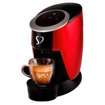 Cafeteira TRES 3Corações Touch Vermelha para Café Espresso Automática - 2003899 - Três Corações