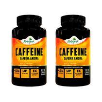 Caffeine (Cafeína Anidra) - 2x 120 Cápsulas - Katigua Sport -