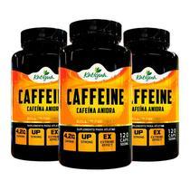 Caffeine (Cafeína Anidra) - 3x 120 Cápsulas - Katigua Sport -