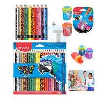 Caixa 24 Lapis de cores Animals Maped -