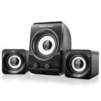 Caixa acústica 14w rms 2.1 usb sp172  multilaser -