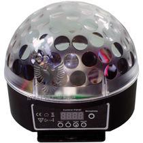 Caixa Acustica Bola LED Giratorio USB/SD Bivo - Flex