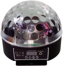 Caixa Acustica Bola LED Giratorio USB/SD Bivo Unidade FLEX -