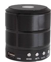 Caixa Acustica Mini 5W RMS C/BLUETOOTH Preta Unidade FLEX -