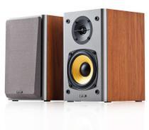Caixa Acústica Monitor De Audio 24w Rms R1000t4 2.0 Bivolt Edifier (Par) - Madeira -