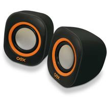 Caixa Acustica para Computador Speaker Round 8W USB/P2 PT/LJ - Eu Quero Eletro