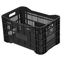 Caixa Agricola Plastico Preta 31x36x55 - Caixaplast