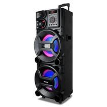 Caixa Amplificada Amvox ACA 1005 Titan 1000w RMS Auto falante Potente Torre de Som -