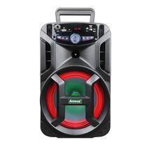 Caixa Amplificada Amvox ACA-188 Gigante Usb, Sd, Bluetooth, Led 180W -