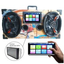 Caixa Amplificada Bluetooth 6x9 Bomber Multimidia - American -