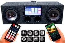 Caixa Amplificada Bluetooth Ativa 6 Bravox + Multimidia Mp5 - Oestesom
