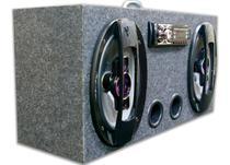 Caixa Amplificada Bluetooth Ativa 69 Pioneer + Taramps Tl500 - Oeste Som