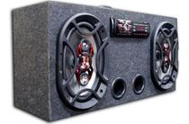 Caixa Amplificada Bluetooth Ativa 6x9 Bravox + Taramps Tl500 - Oestesom