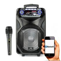 Caixa Amplificada Bluetooth Thunder Black 400w - Sumay