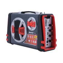 Caixa Amplificada Boombox Portátil Amvox ACA 110 Bluetooth USB MicroSD Auxiliar Rádio FM 65W -