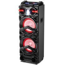 """Caixa Amplificada Com Bluetooth 10"""" 800W Aux/Sd/Fm/Usb - Lenoxx -"""