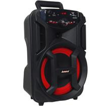 Caixa Amplificada Gigante Usb, Sd, Bluetooth, Led 180w Amvox -