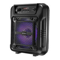 Caixa Amplificada Lenoxx CA60 Bateria, Bluetooth, Entrada Auxiliar, Usb 80W Bivolt -